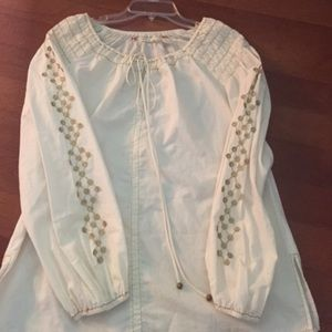 Chelsea & Violet Cotton Blouse Small Worn Twice